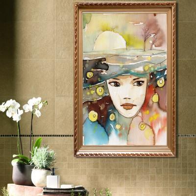 个性装饰画酒吧抽象人物画沙发背景墙面壁画创意挂画餐厅有框画怎么样